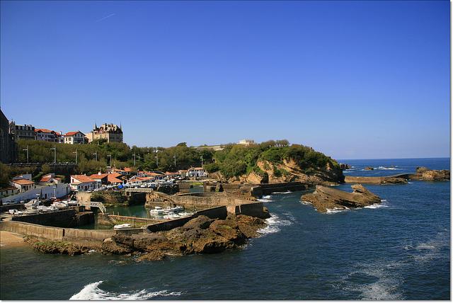 visiter biarritz sur la cote basque