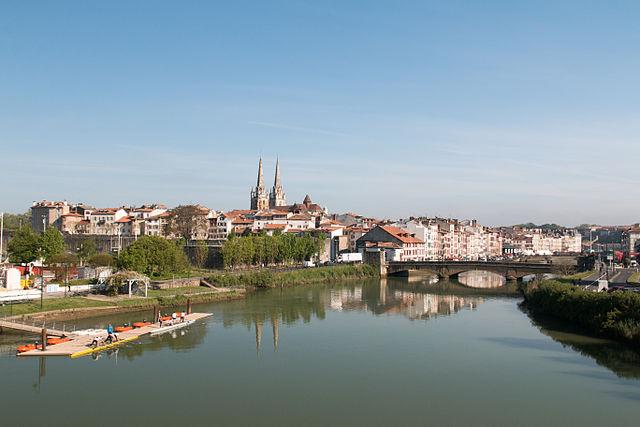 Ville de Bayonne au pays Basque